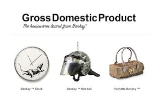 """Banksy apre """"Gross Domestic Product"""", il suo primo negozio online"""
