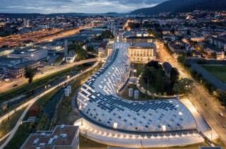 Il nuovo quartier generale di Swatch ha una delle coperture in legno più grandi del mondo