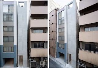 Ginza Tenant Building, l'edificio più stretto di Tokyo