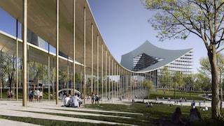 CityLife a Milano: Bjarke Ingels progetta la nuova porta d'ingresso