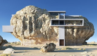 La casa nella roccia di Amey Kandalgaonkar