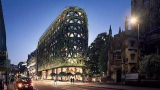 Londra, la più grande parete vegetale d'Europa assorbe 8 tonnellate di emissioni all'anno