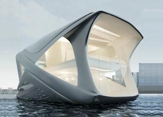 La casa galleggiante di lusso è il futuro delle città