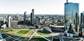 Milano, il nuovo quartiere di Porta Nuova-Gioia tra grattacieli e spazi verdi
