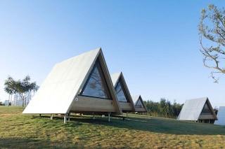 Wiki Tribe, il villaggio cinese fatto da case di forma triangolare autocostruite