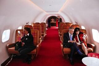 L'aereo d'epoca diventa un cocktail bar a tema retrò