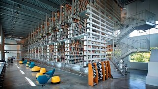 Mui Ho Fine Arts Library, la biblioteca dove i libri sono sospesi