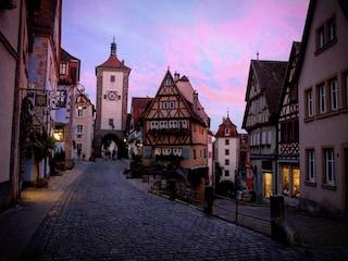 Romantische strasse, la strada più romantica del mondo