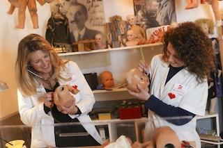 Napoli, nel primo Ospedale delle Bambole d'Italia