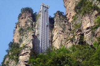 Bailong Elevator, l'ascensore esterno più alto del mondo