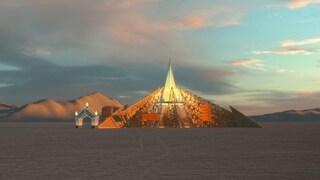 Burning Man 2020: Empyrean sarà il tempio ufficiale dell'evento