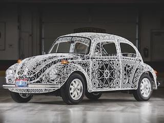 Rafael Esparza-Prieto crea il Maggiolino Volkswagen in ferro battuto