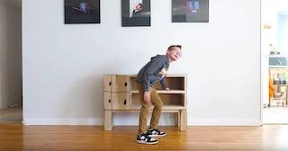 Un papà trasforma il disegno del figlio di 6 anni in realtà
