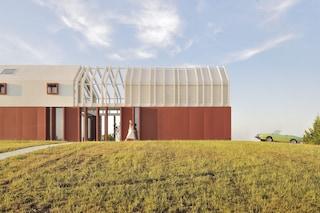 Border Crossing House, la casa che rispetta la storia agricola d'Italia