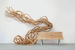 Le Panchine Spaghetti di Pablo Reinoso sono opere d'arte pubblica