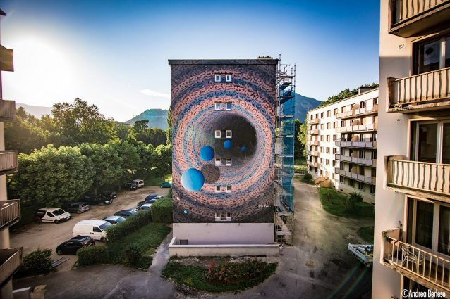 France, Street Art Fest Grenoble AlpesPhotos by @andreaberlesephotography