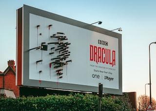 Dracula della BBC: quando la pubblicità è geniale