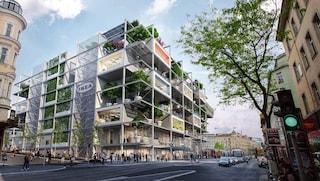 IKEA apre a Vienna il suo store più innovativo, con facciata verde e senza auto