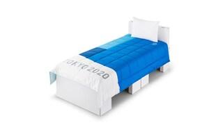 Alle Olimpiadi di Tokyo 2020 gli atleti dormiranno su letti di cartone riciclabile