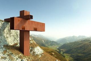 XYZ House, la prima casa cruciforme con vista sulle Alpi svizzere