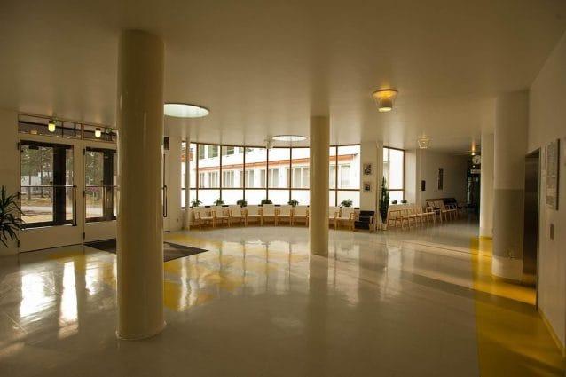 Paimio Sanatorium by Alvar Aalto in Finland
