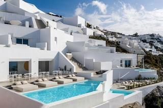 Saint Hotel, l'albergo d'autore ricavato nelle grotte di Santorini
