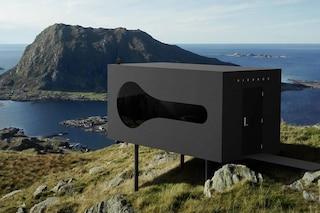 Birdbox, il rifugio con vista sui fiordi e le montagne selvagge della Norvegia