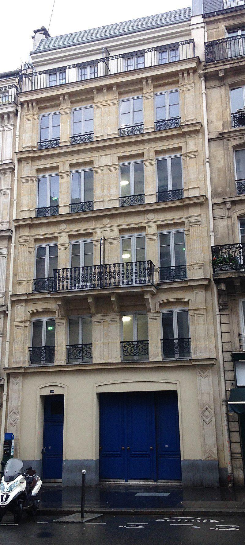 145 di rue Lafayette, Parigi