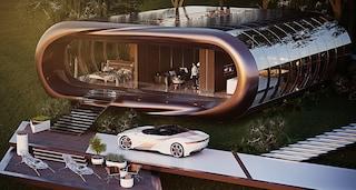 Casa Tesla: ecco come sarebbe se esistesse