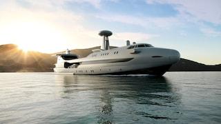 Il superyacht di lusso che sembra un jumbo-jet