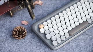 La tastiera da pc che si ispira alle vecchie macchine da scrivere