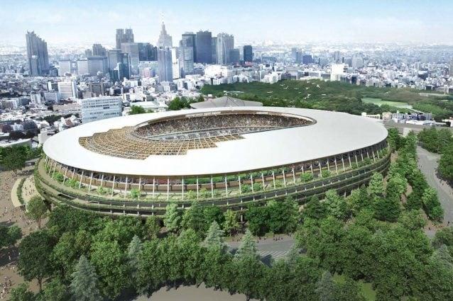 New National Stadium Development Project © Taisei Corporation, Azusa Sekkei Co., Ltd. and Kengo Kuma and Associates JV