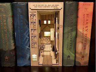 Book Nook, i mondi in miniatura tra gli scaffali di libri