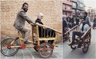 L'eco-bike di bambù contro l'inquinamento urbano