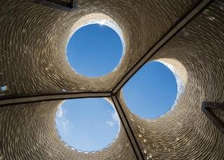 Hy-Fi, l'edificio fatto di funghi perfetto anche per vivere su Marte