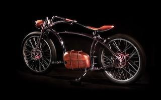 Avionics VM, la e-bike che sembra una moto degli anni Trenta