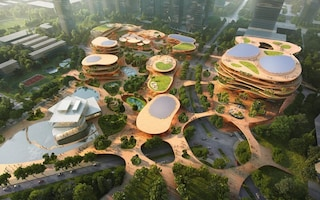 MVRDV vince il concorso per il Shimao ShenKong International Center a Shenzhen