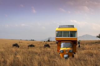 SOLO 01, la casa mobile costruita sul retro di un risciò