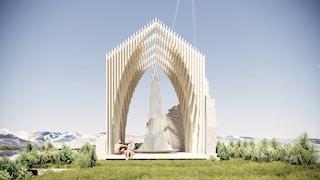 Una Cappella del Sale rende omaggio all'architettura slovena