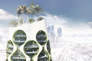 Oasi verticale, la prima torre sostenibile che cambia l'ambiente naturale con un'App