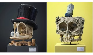 L'artista Filip Hodas trasforma in fossili i più famosi personaggi dei cartoni animati