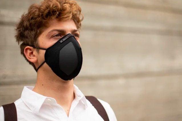 maschera di virus