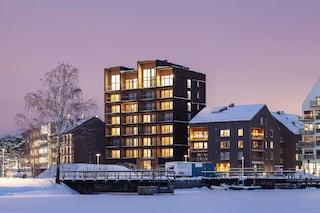 Il Kajstaden Tall Timber Building, l'edificio in legno più alto della Svezia