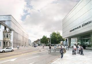 Kunsthaus Zürich, il più grande museo d'arte in Svizzera, si amplia