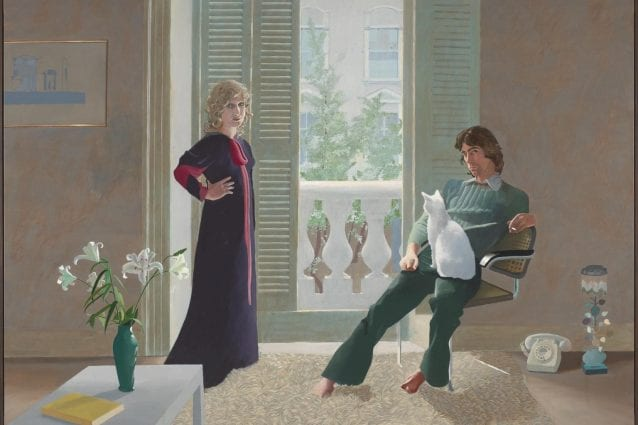 © David Hockney. I signori Clark e Percy. 1970–1 (Collezione Tate).