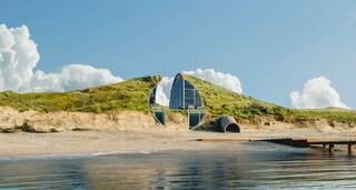 La Dune House di Cape Cod, la casa scavata nelle dune di sabbia
