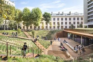 Parigi, la ex caserma militare diventa il campus dell'Università di legge