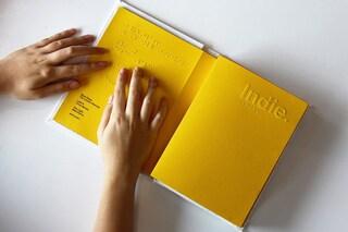 Note, la cassa a forma di libro che permette di vedere attraverso la musica
