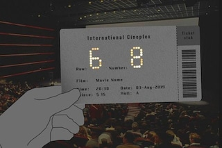 Shiny Movie Ticket, il biglietto del cinema che si illumina al buio
