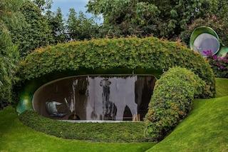 Organic House, la casa di Javier Senosiain che crea un unicum con la natura